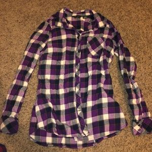 Eddie Bauer flannel button down long sleeve